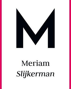 Meriam Slijkerman