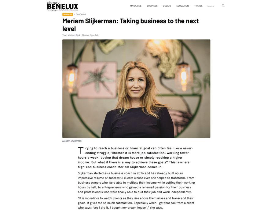 Meriam-Slijkerman-Benelux-Magazine-High-end-ondernemen